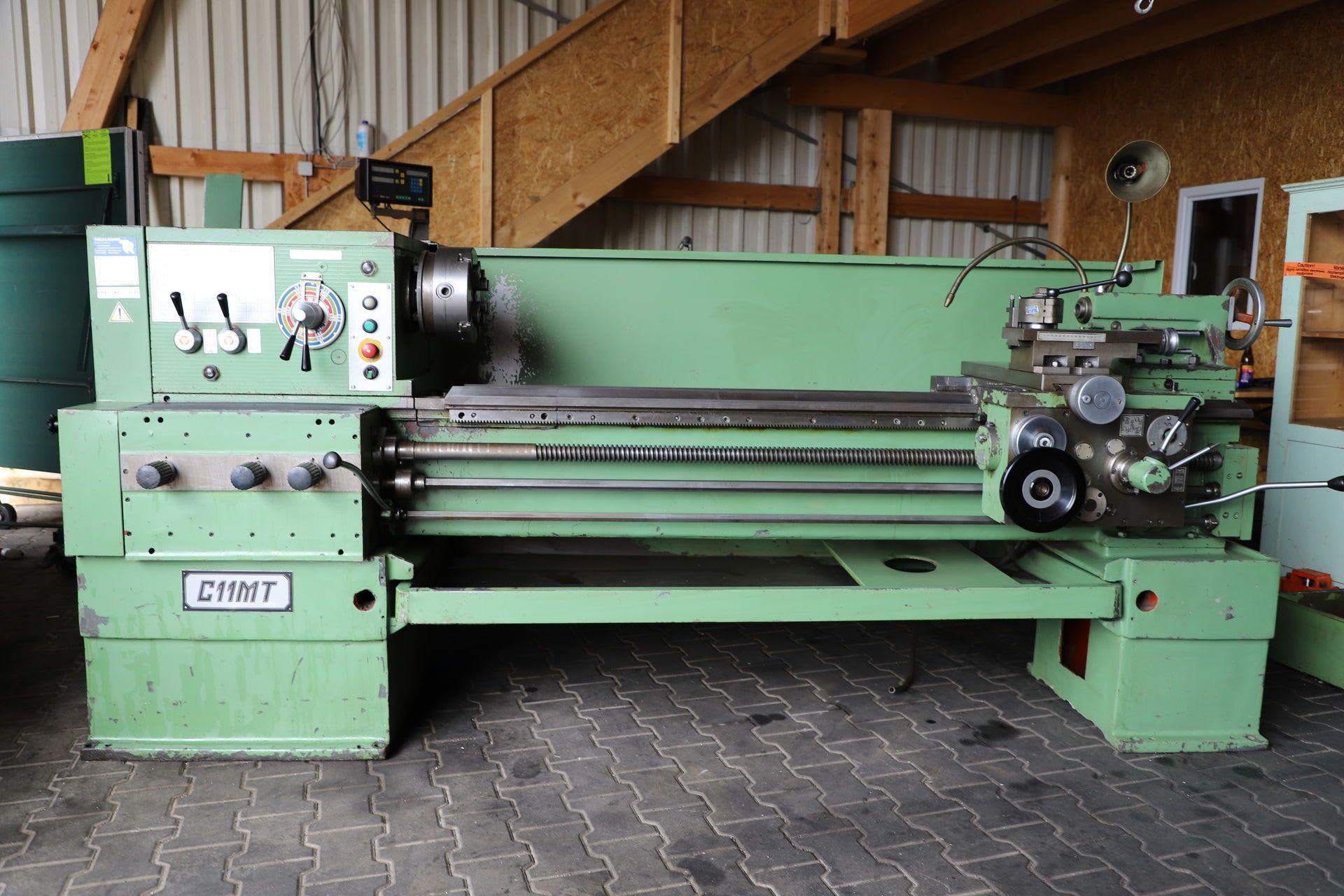 C11 MT Leit- und Zugspindeldrehmaschine