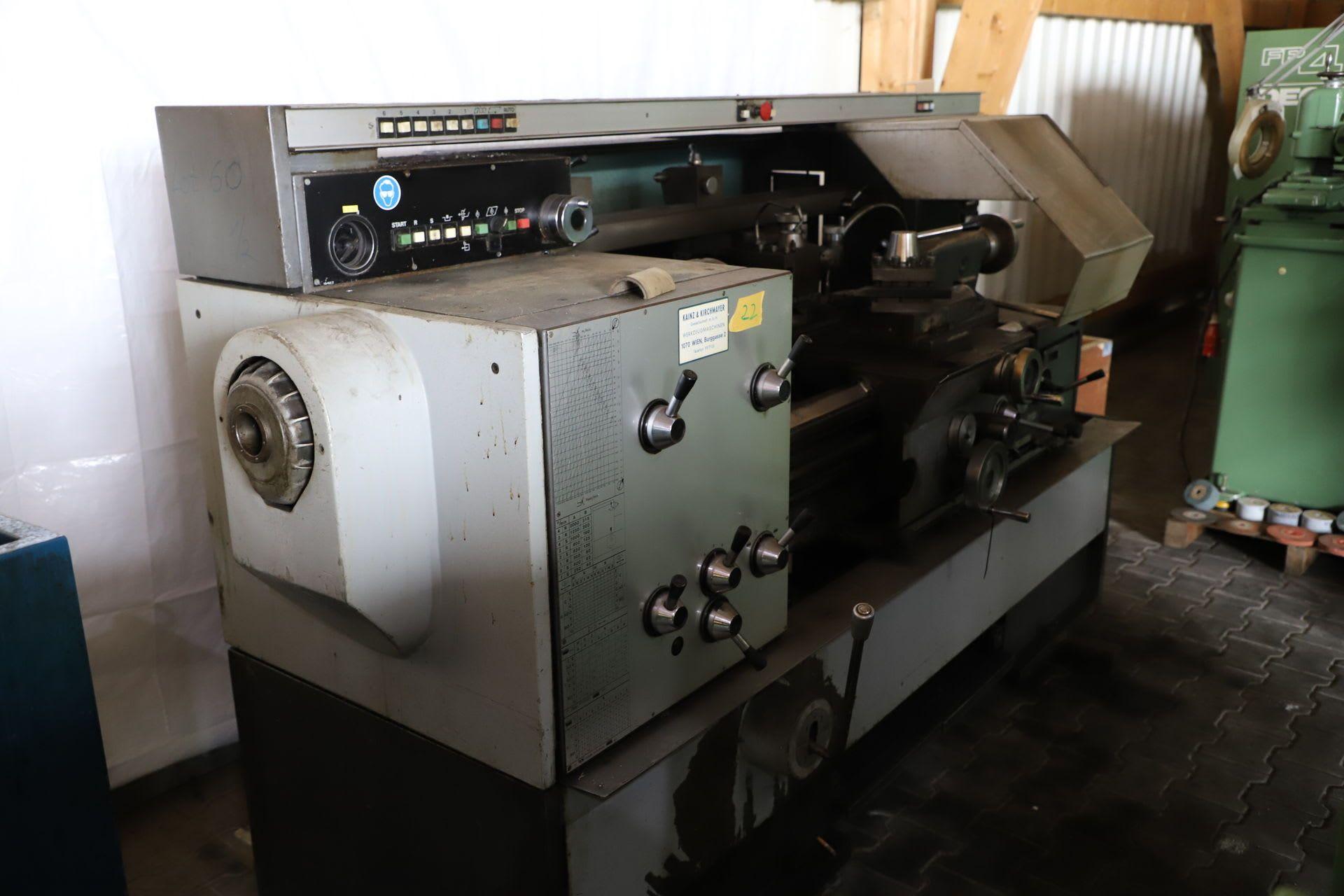 GALICOP MONDIALE Leit- und Zugspindeldrehmaschine