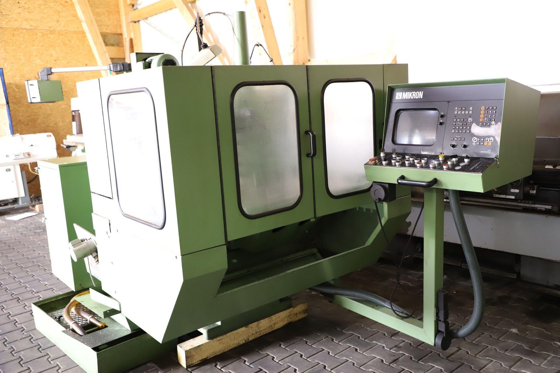 MIKRON WF 31 D Werkzeugfräsmaschine