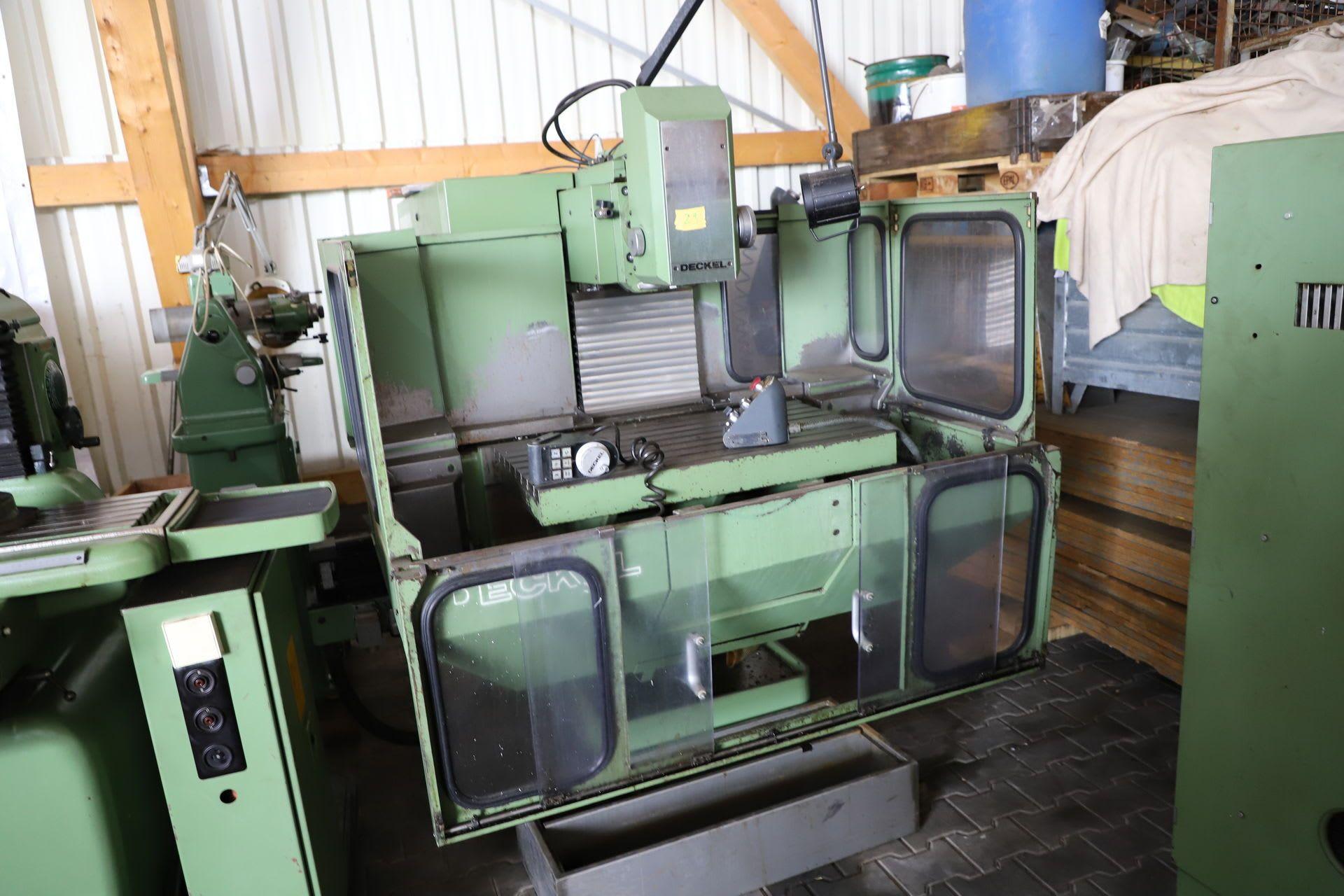 DECKEL FP 4 NC CNC Werkzeugfräsmaschine