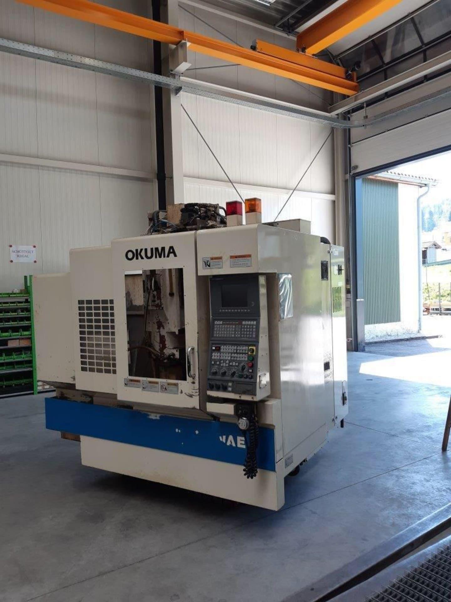 OKUMA MX 45 VAE CNC-Bearbeitungszentrum - Ersatzteilträger