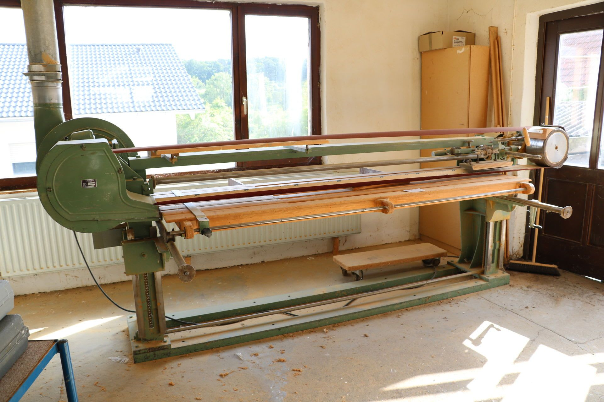 BÜRKLE BSN 39/250/80 Langband-Schleifmaschine