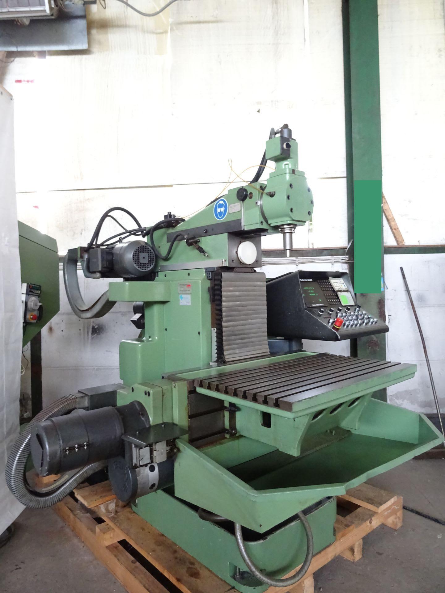 DECKEL FP 4 A NC Werkzeugfräsmaschine