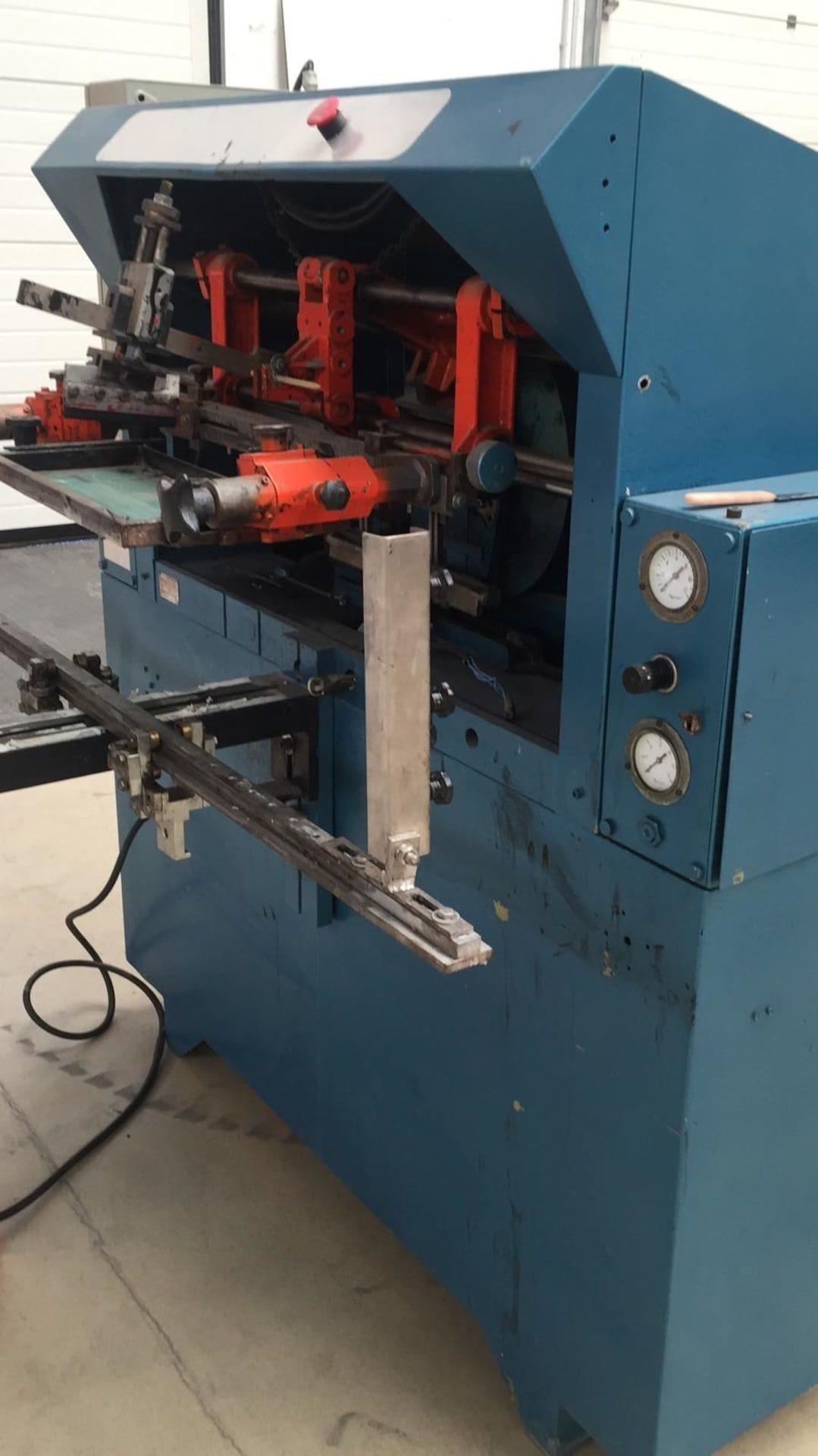 DUBUITO 150 Halbautomat Siebdruckmaschine