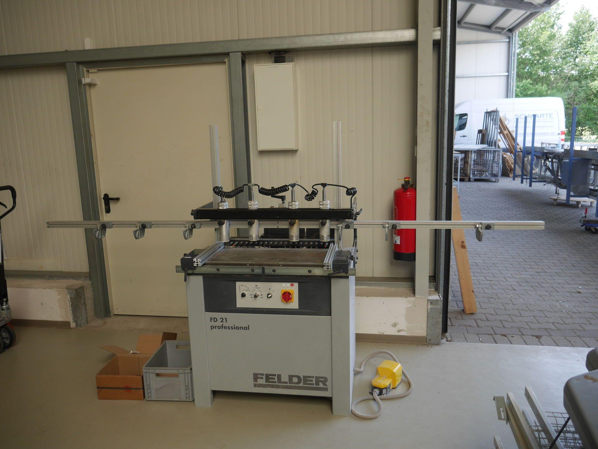 FELDER FD 21 Professional Dübellochbohrmaschine