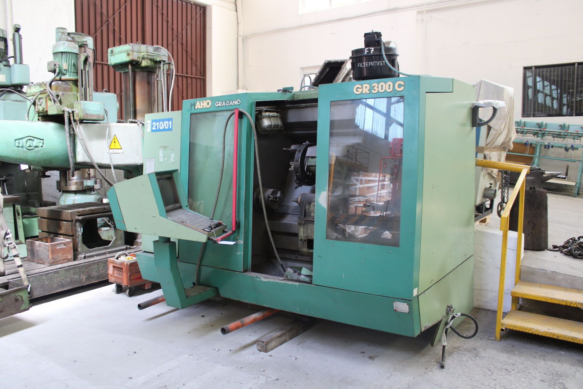 GRAZIANO GR300C CNC-Drehmaschine
