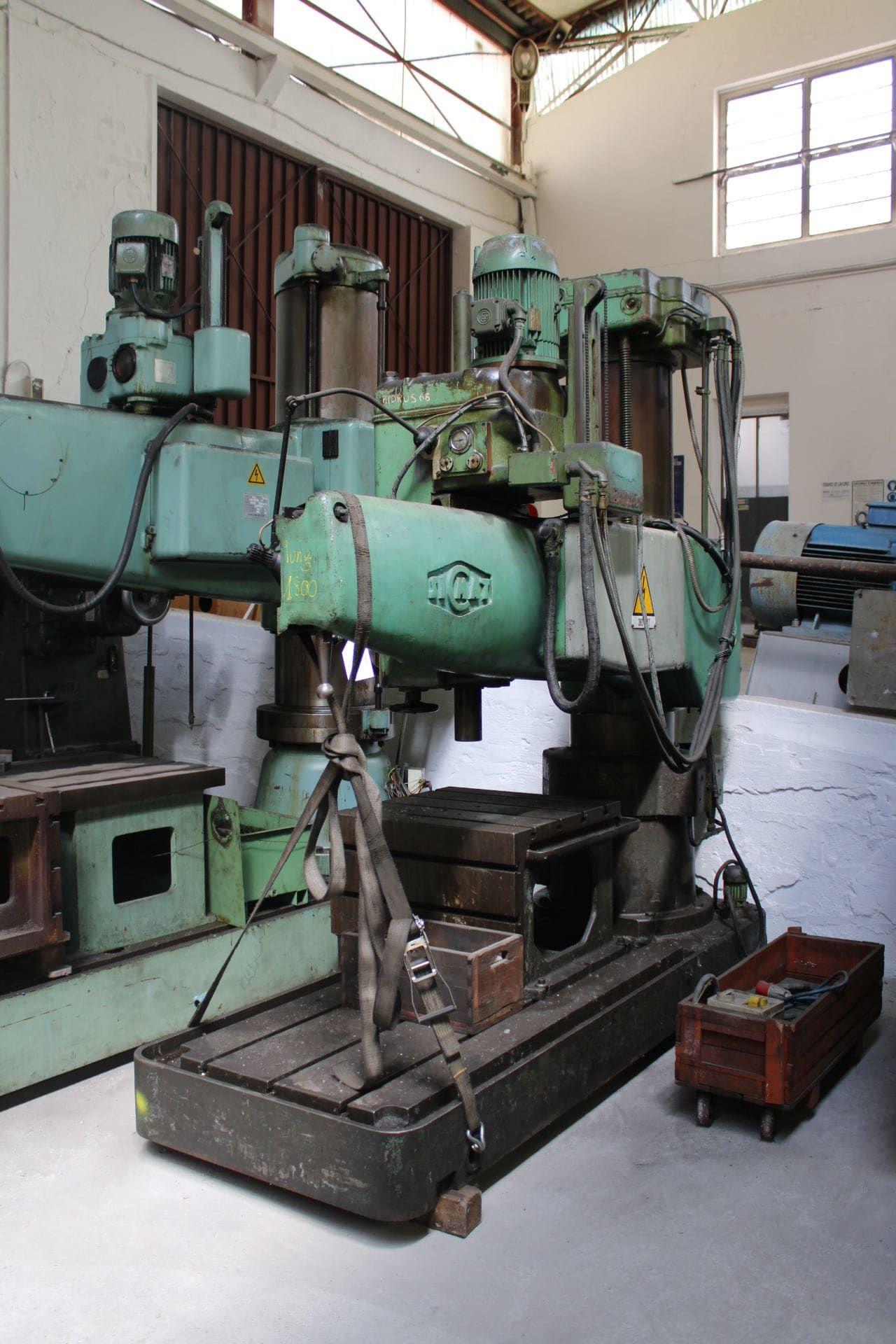 SICMAT TORINO Radialbohrmaschine