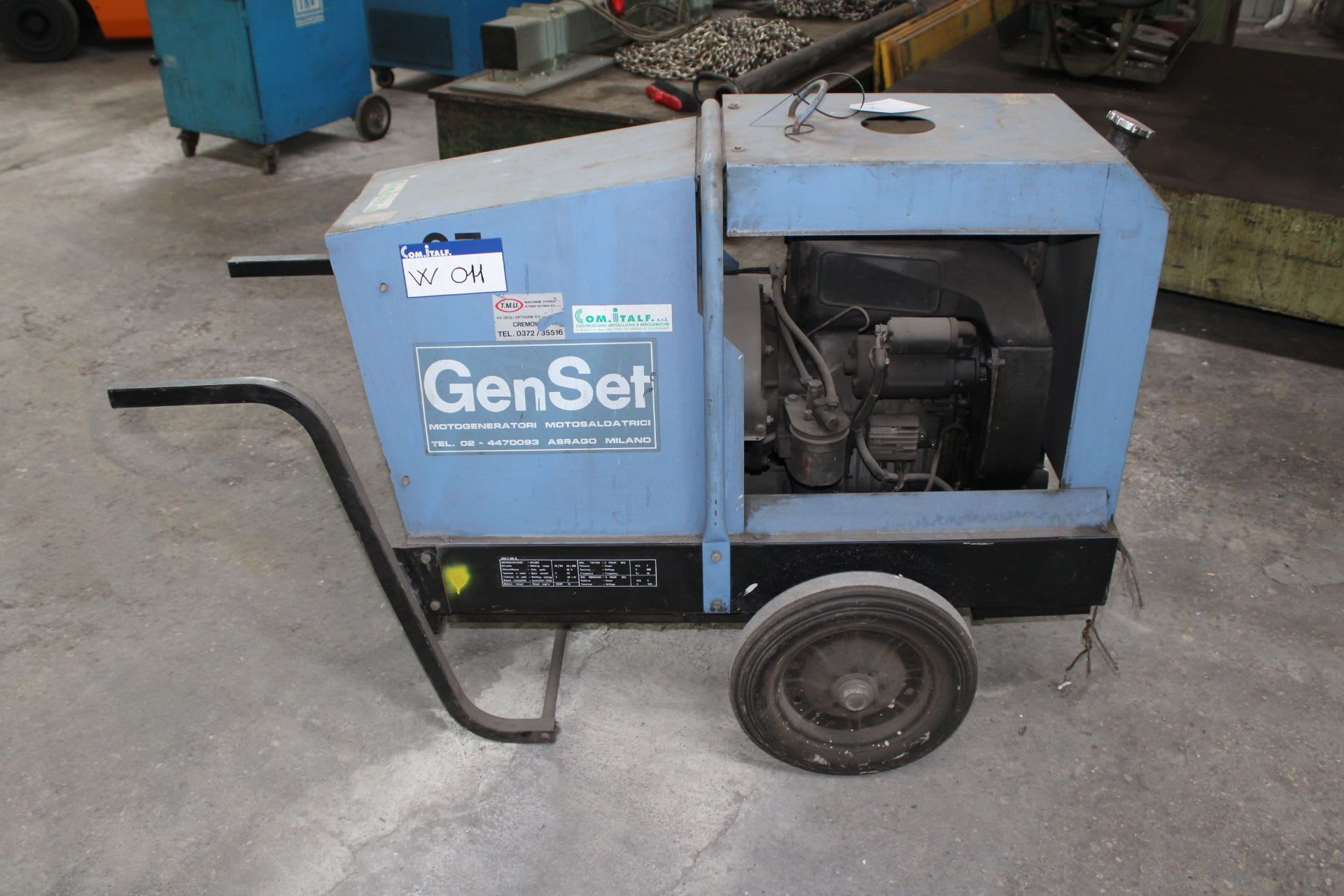 GENSET MPM-7-300-EL Dieselmotor-Schweißgenerator