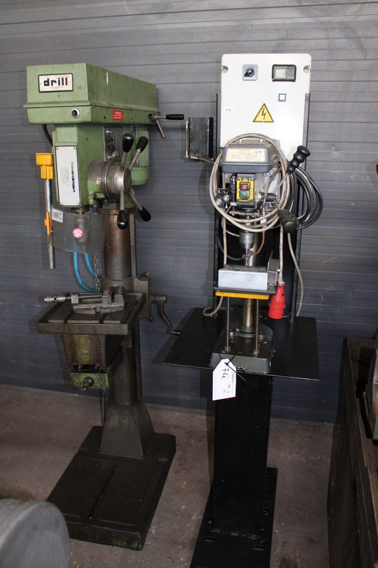 DRILL Posten Bohrmaschinen (x 2)