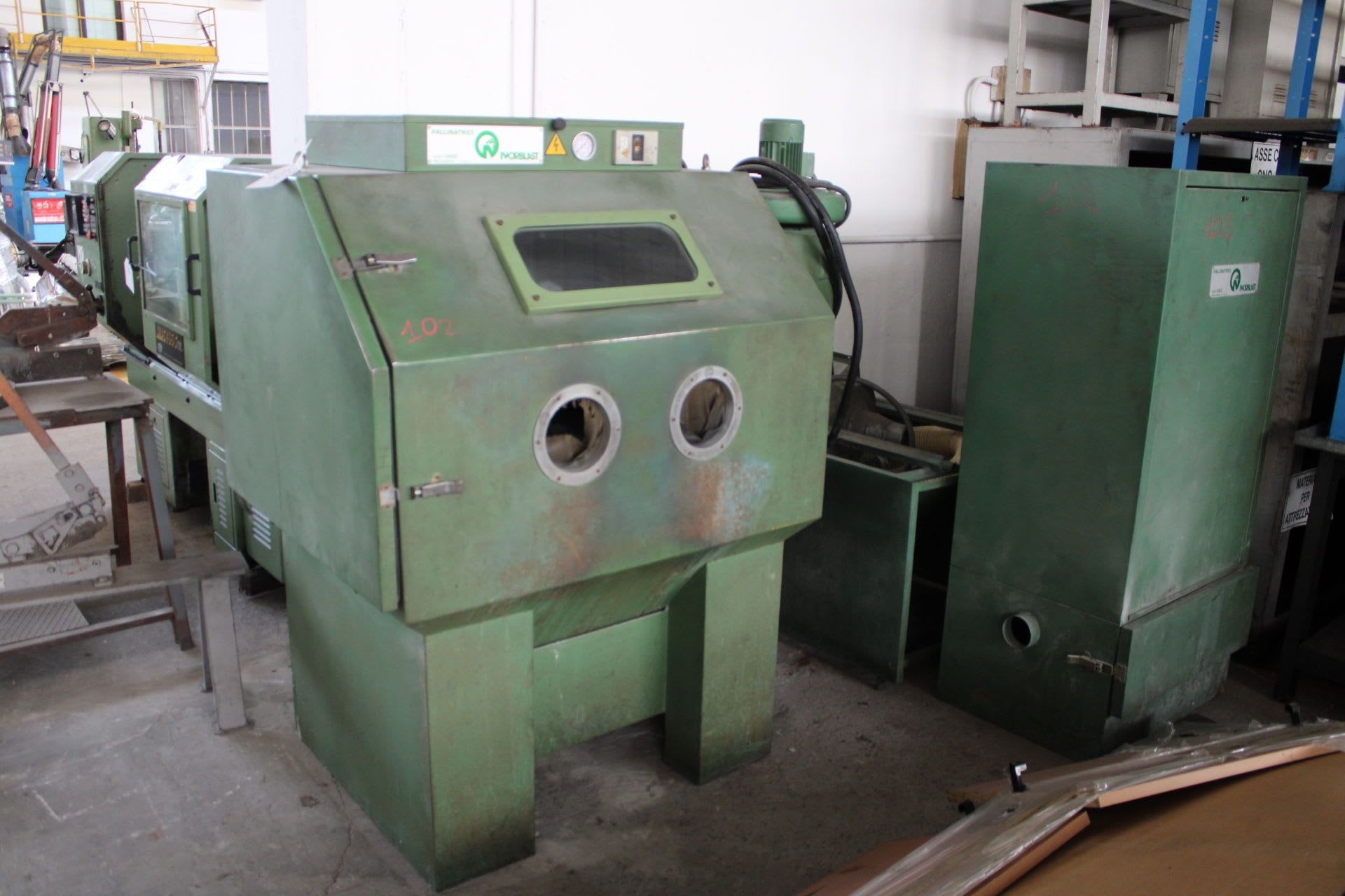 NORBLAST FN36 Sandstrahlmaschine