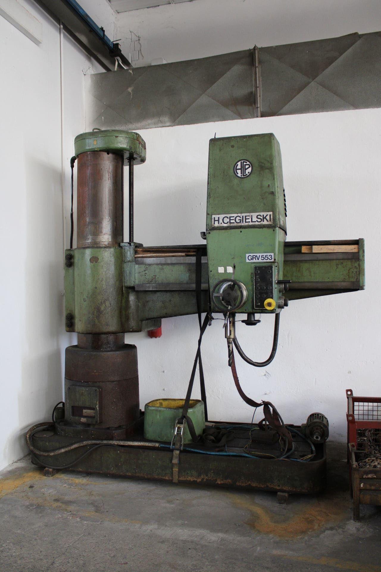 H.CEGIELSKI GRV 553 Radialbohrmaschine