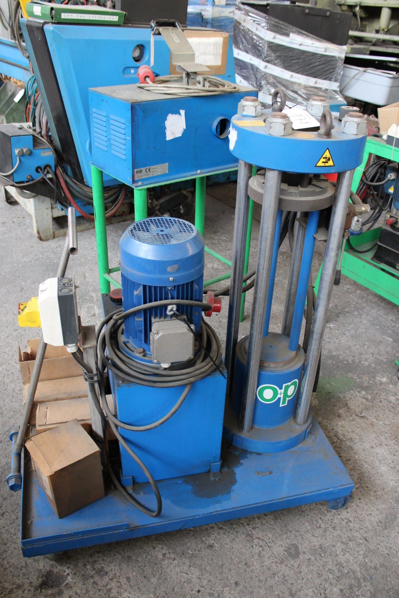 OP TUB 265S Presse für Armaturen