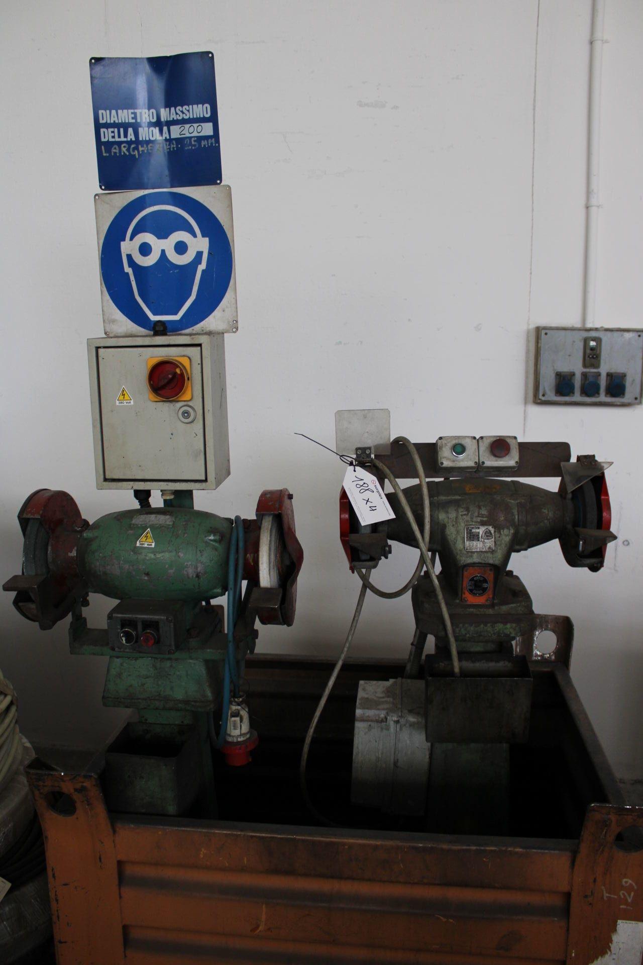 Posten Doppelschleifmaschinen (x 4)