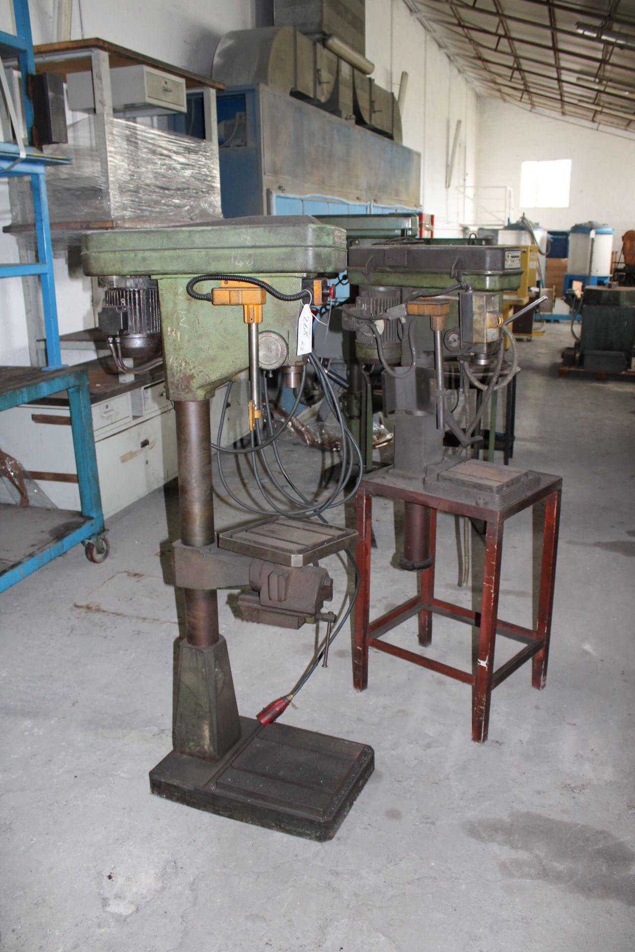 BIMAK Posten Säulenbohrmaschinen (x 2)