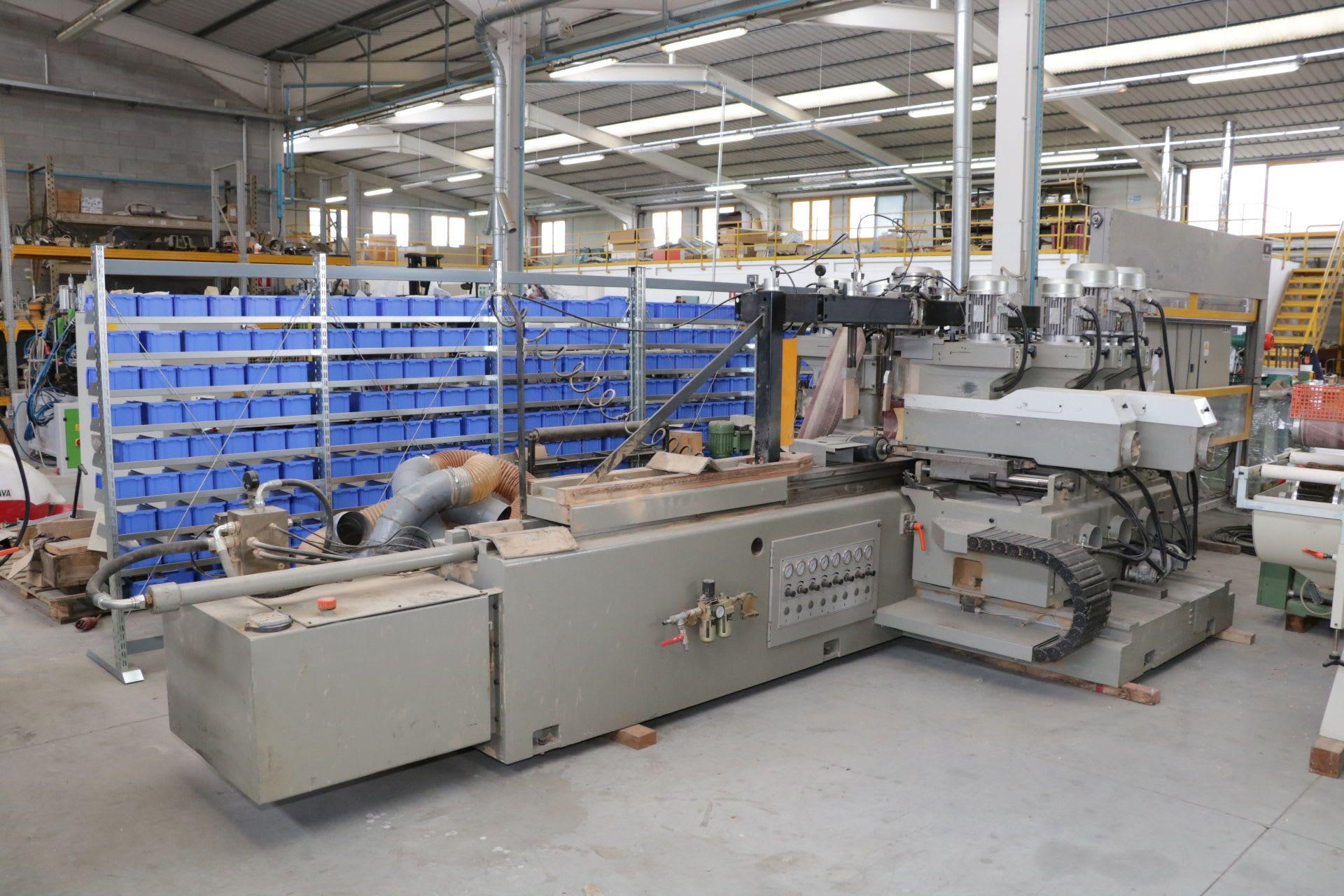 BALESTRINI CP90/8 Lineare Fräsmaschine