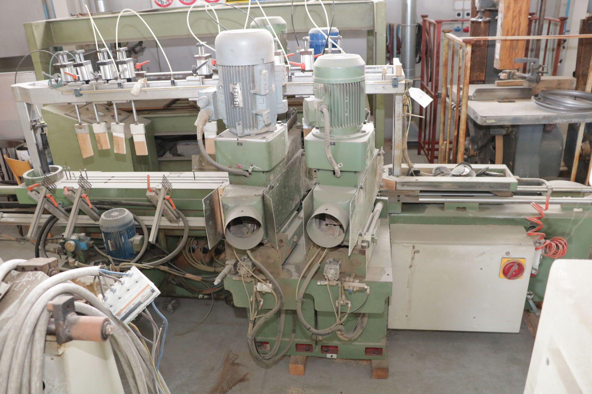 BACCI FC4 Lineare Fräs-/Kopiermaschine