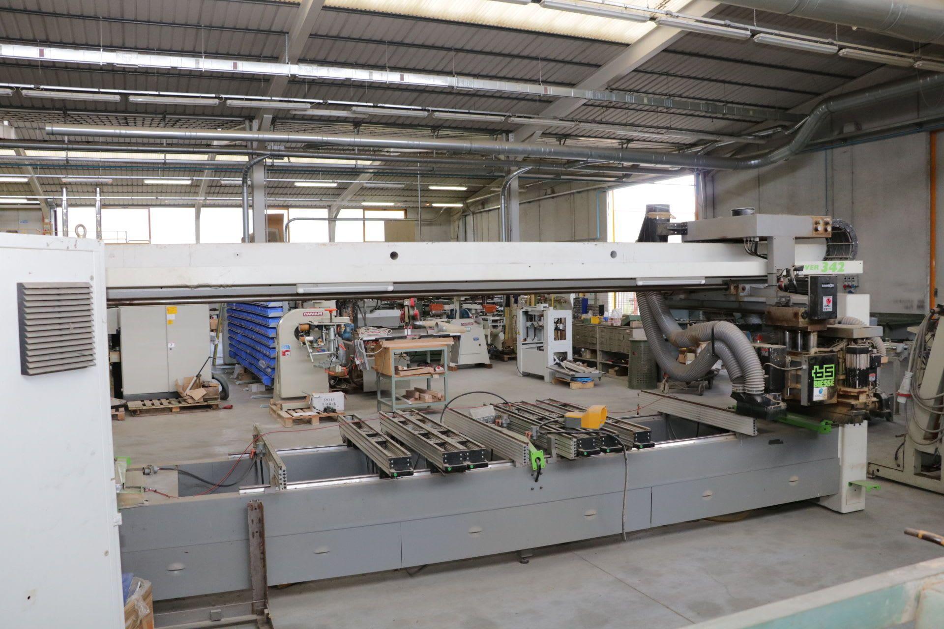 BIESSE ROVER 342 CNC-Paletten-Bearbeitungszentrum