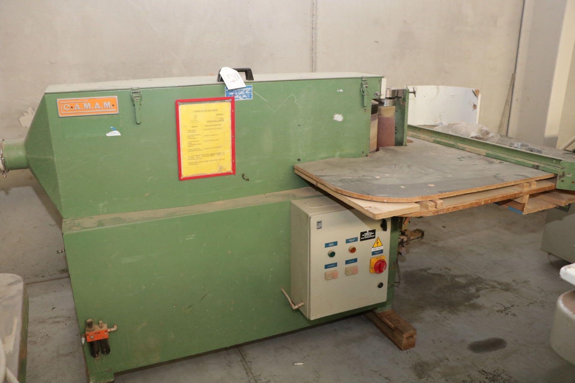 CAMAM LVL 10 AV Langschleifmaschine