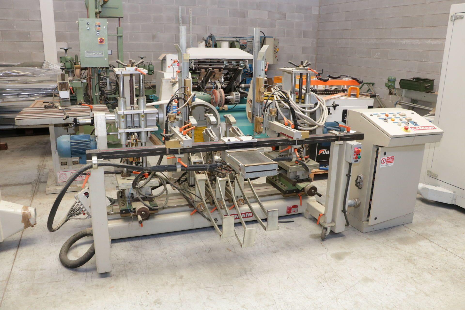 CAMAM FDTI/CR/PLC Doppelte Fräsmaschine