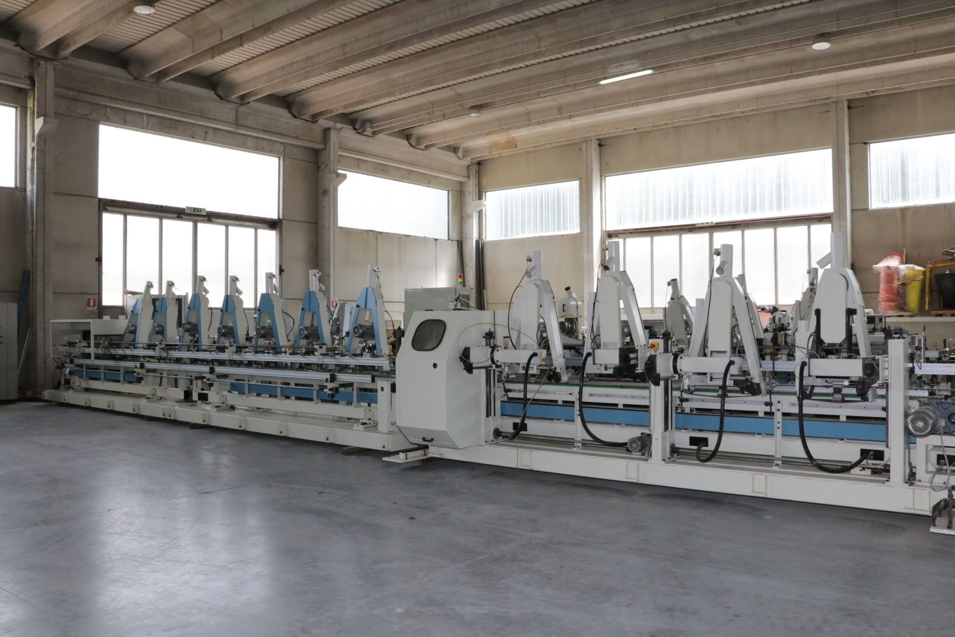 TECNOLEGNO LS920+LS520 Schleifmaschine