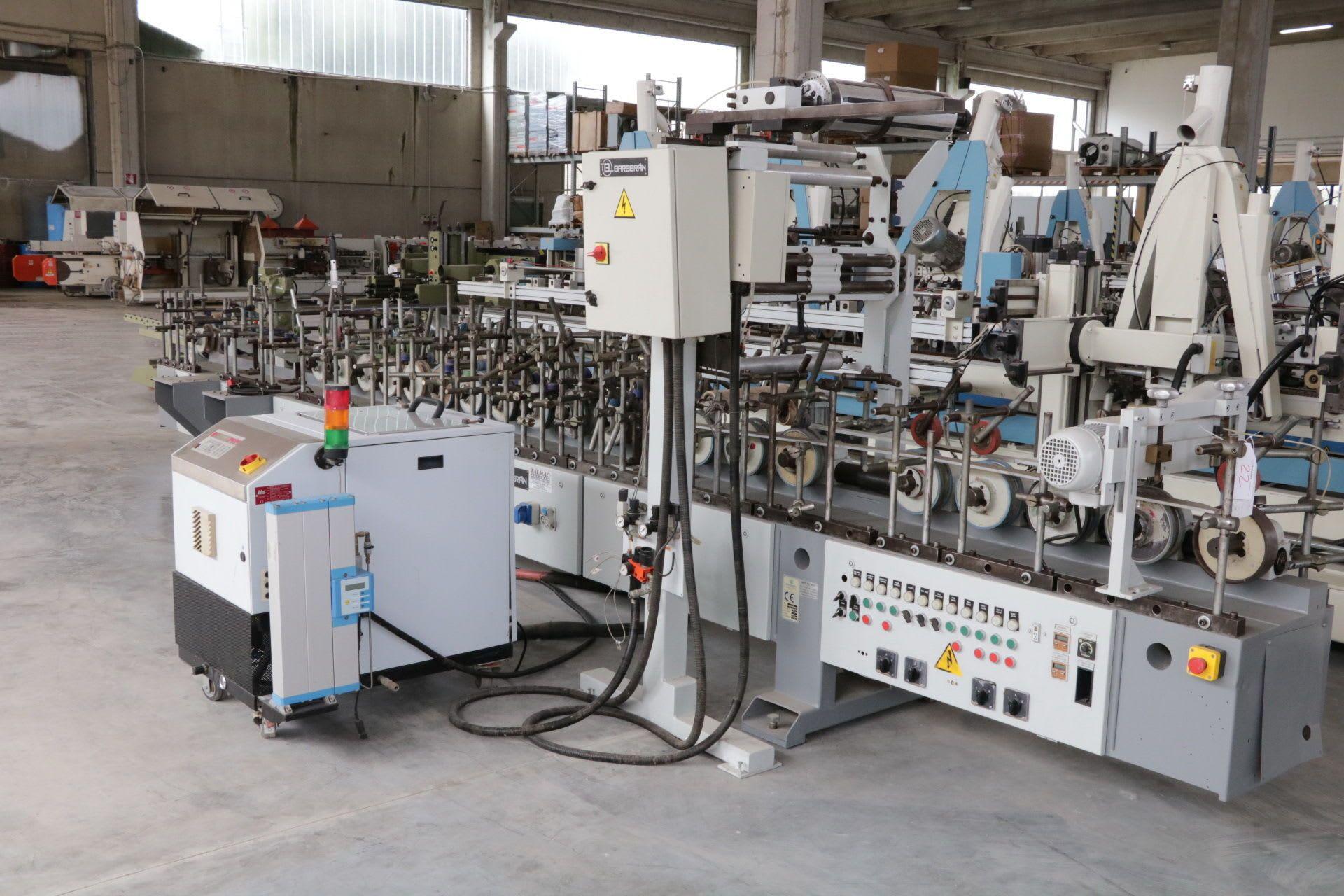 BARBERAN RP-30 PVC-Profilummantelungsmaschine