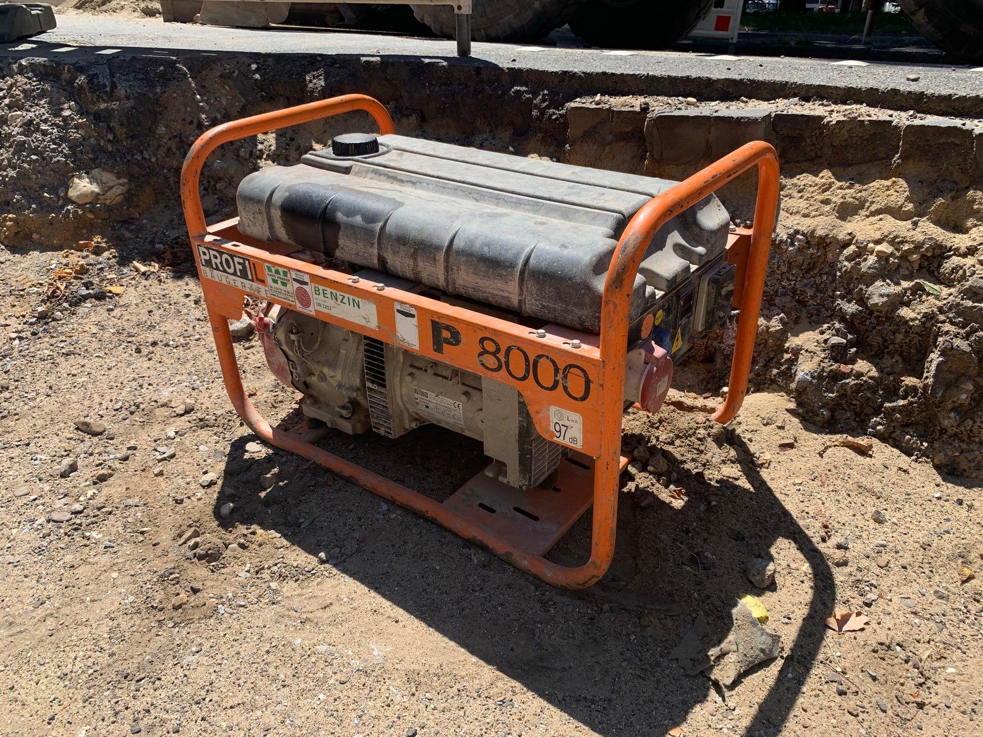 PROFIL P8000 Stromerzeuger