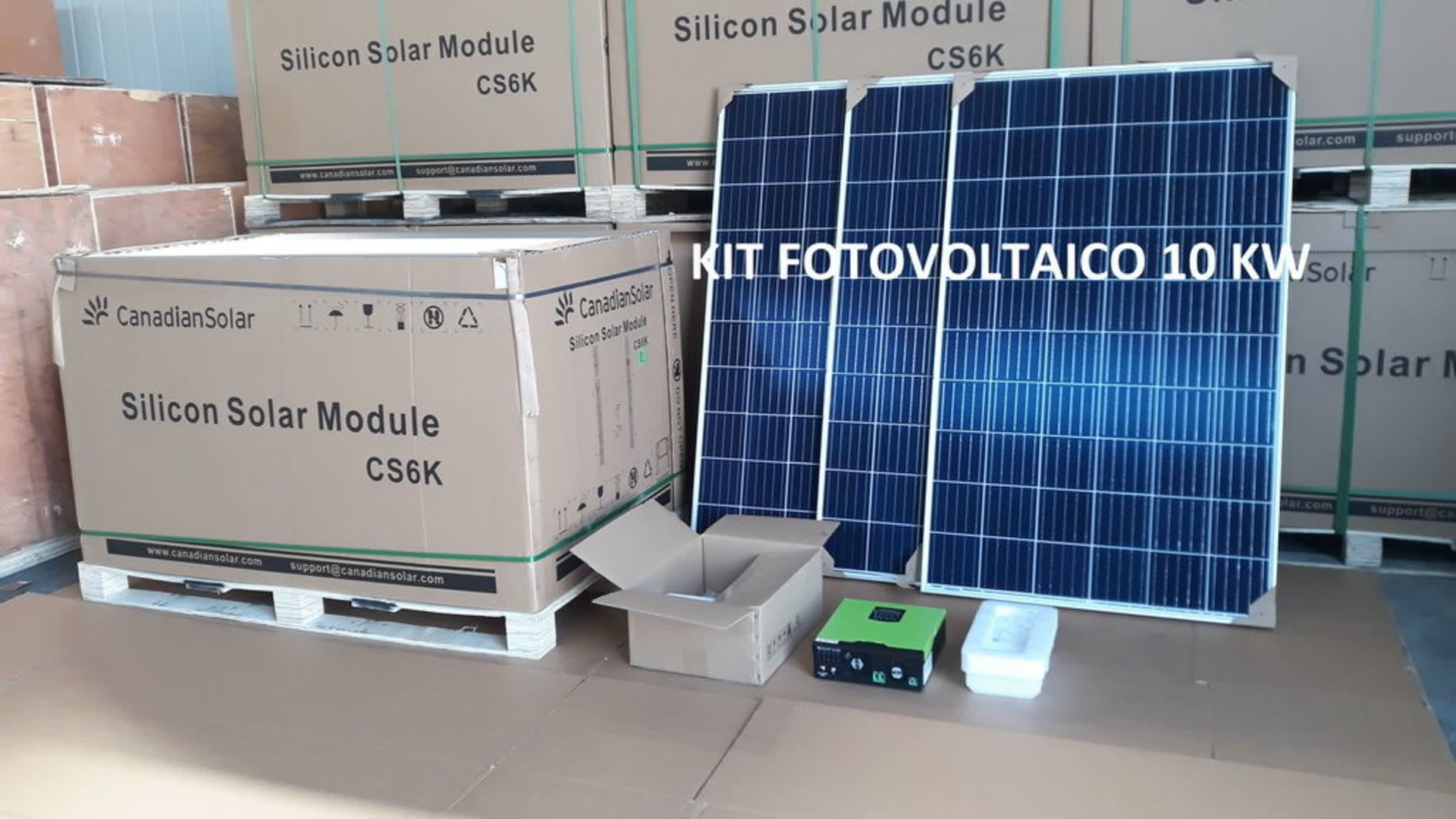 Photovoltaik-Kit 10 KW A++ class