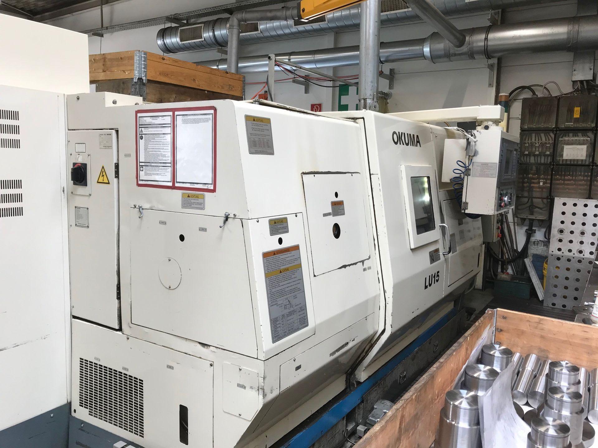 OKUMA LU 15-2SC 600 CNC Drehmaschine