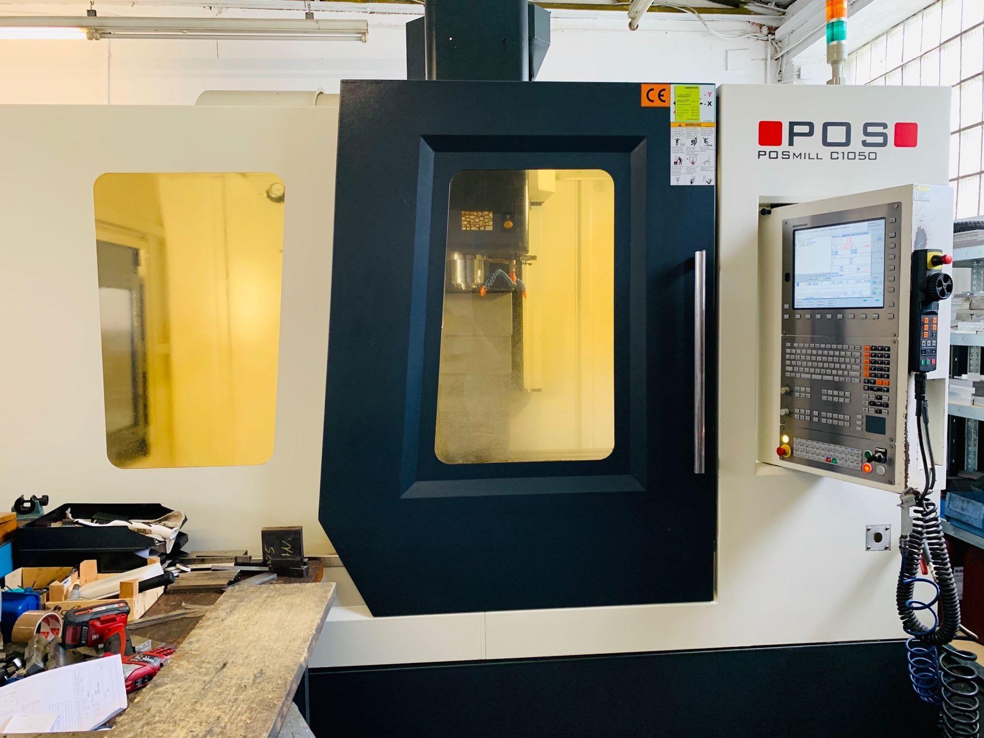 POS POSmill C 1050 Vertikal-Bearbeitungszentrum