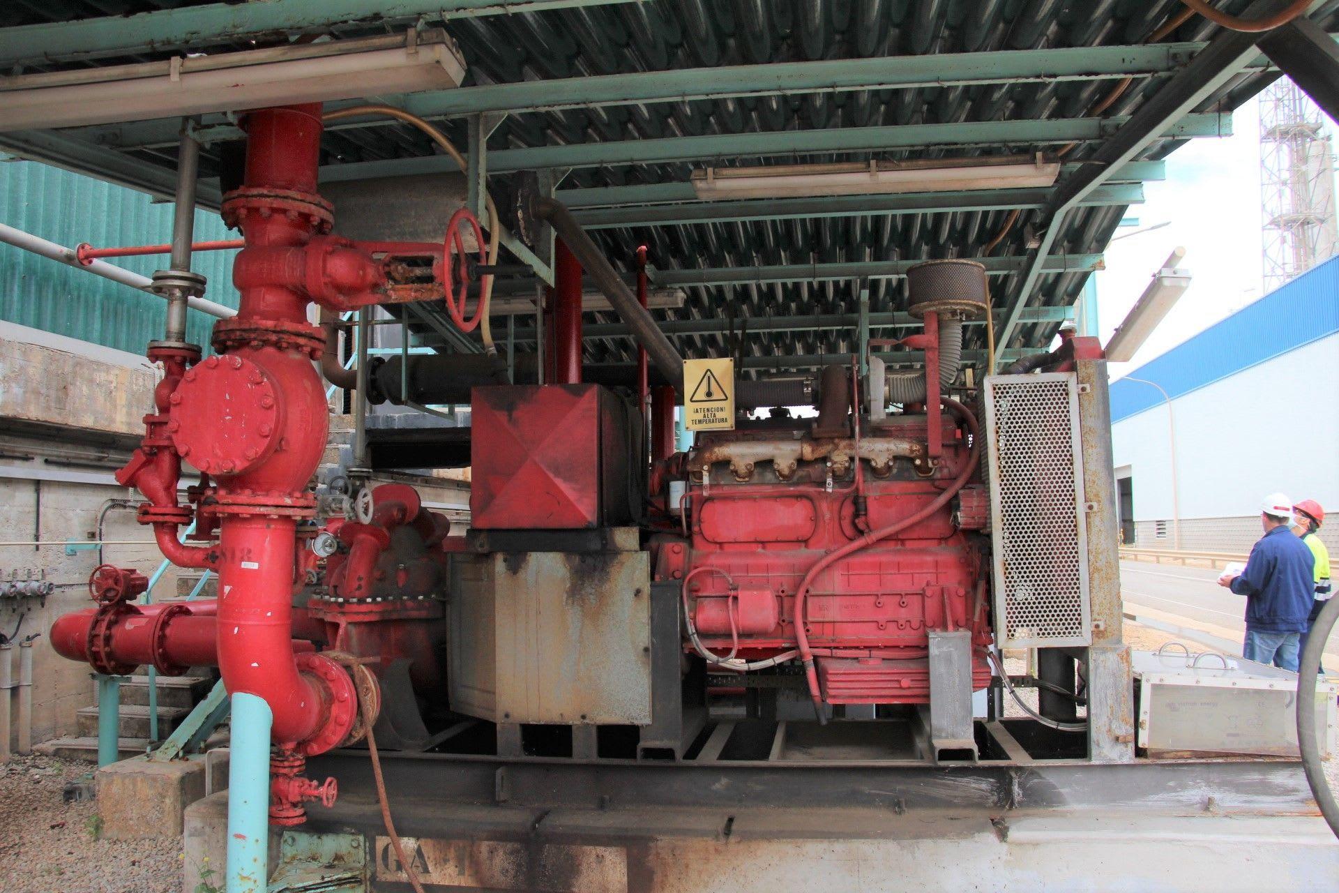 PEGASO 96T1A0 Dieselmotor Feuerlöschpumpe