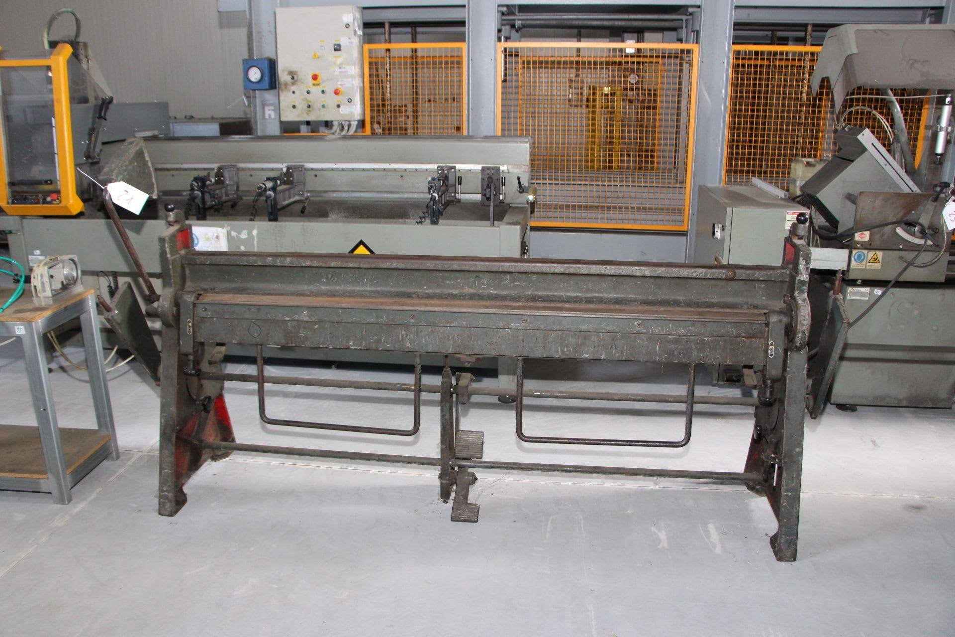 SCHECHTL KS1F Biegemaschine
