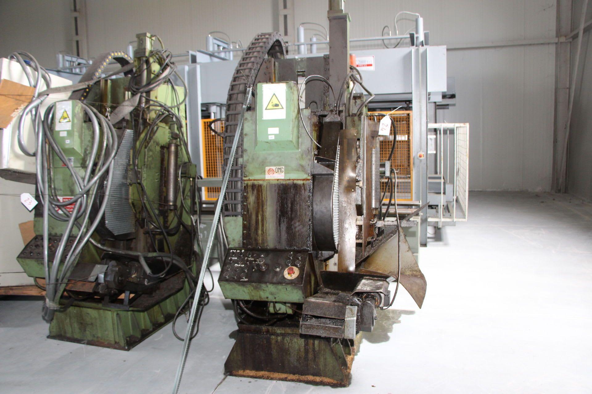 OMG 22 X 22 Abwälzfräsmaschine