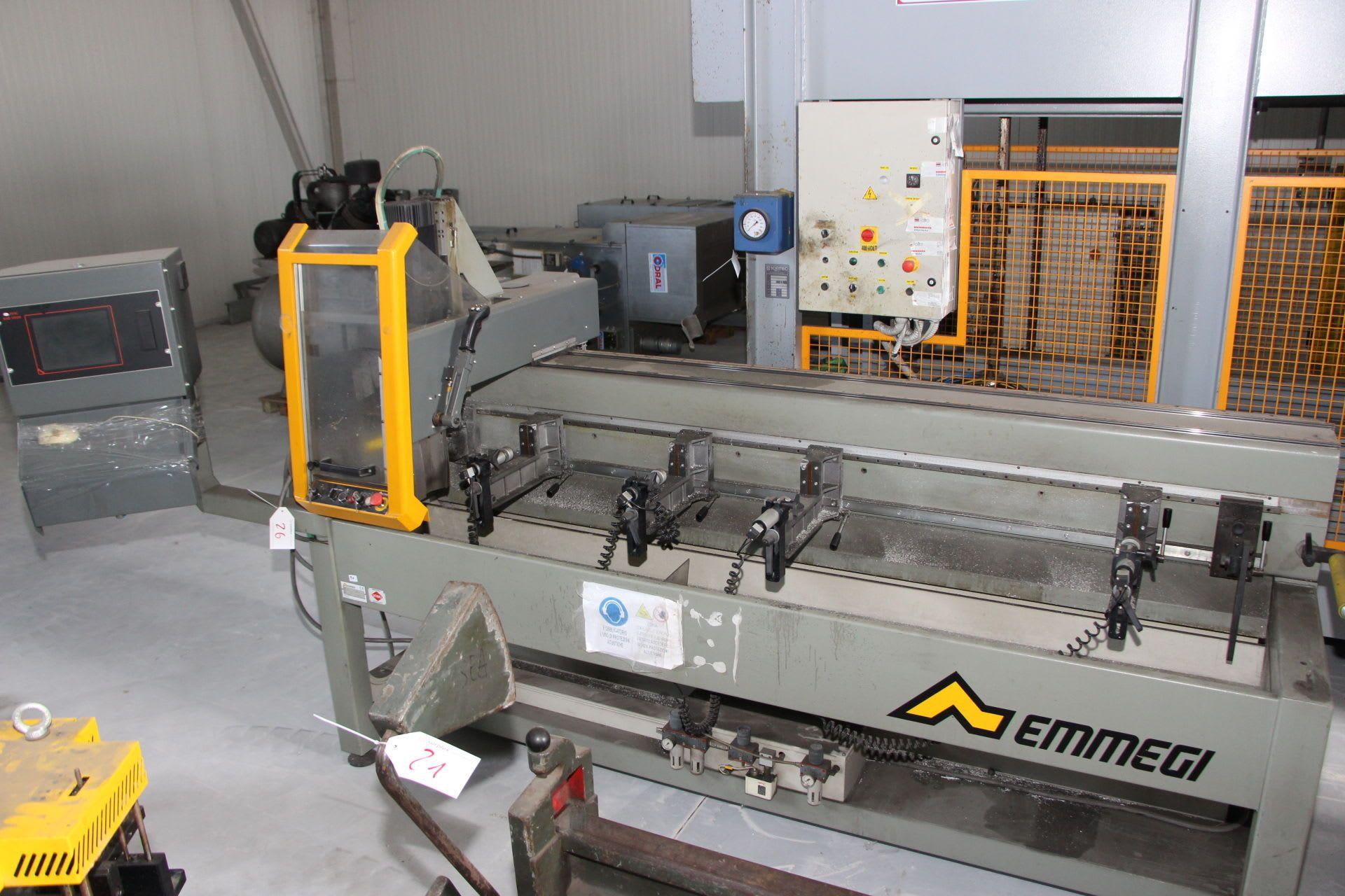 EMMEGI PHANTOMATIC CNC-Bohrzentrum