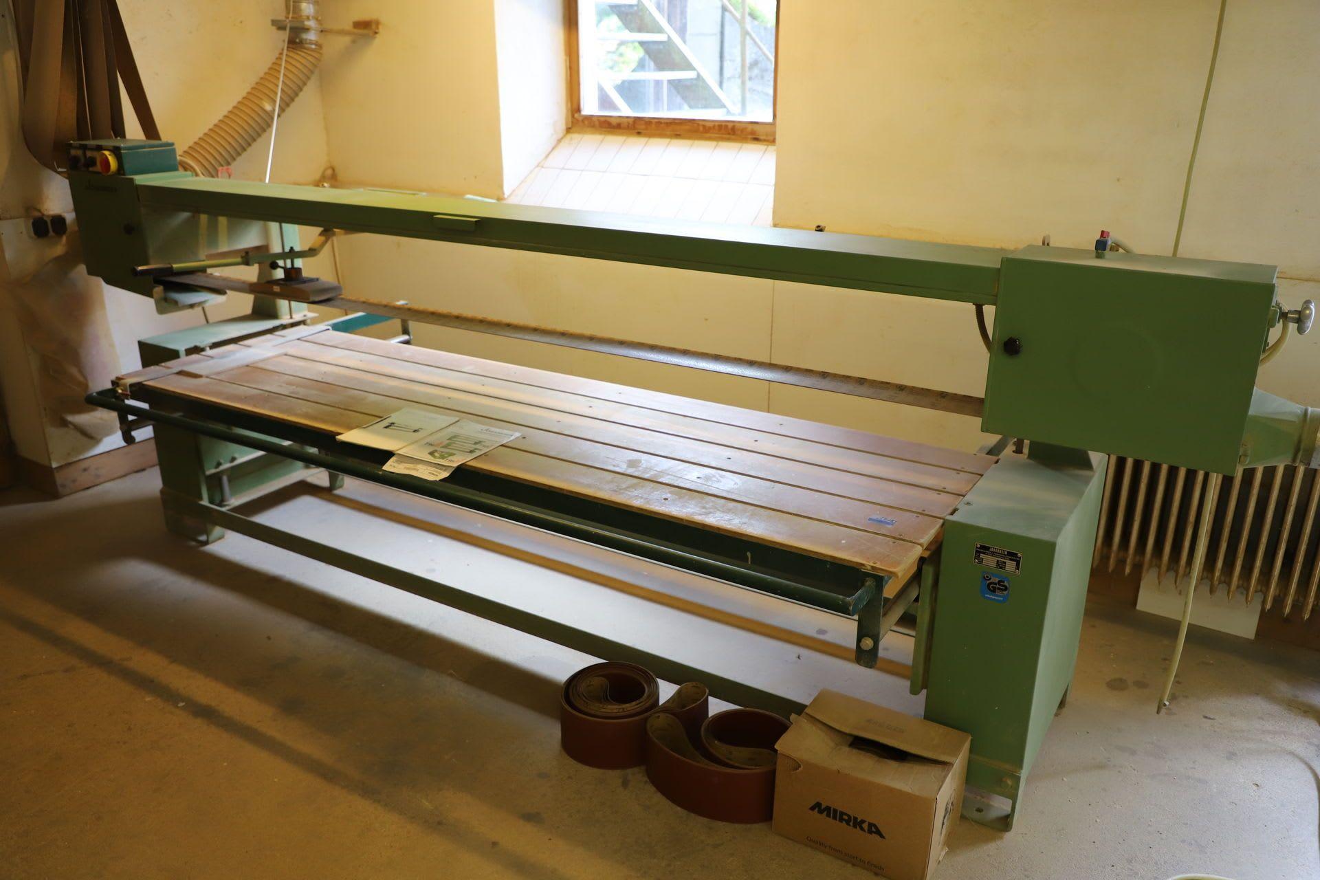 JOHANNSEN T94 Langbandschleifmaschine