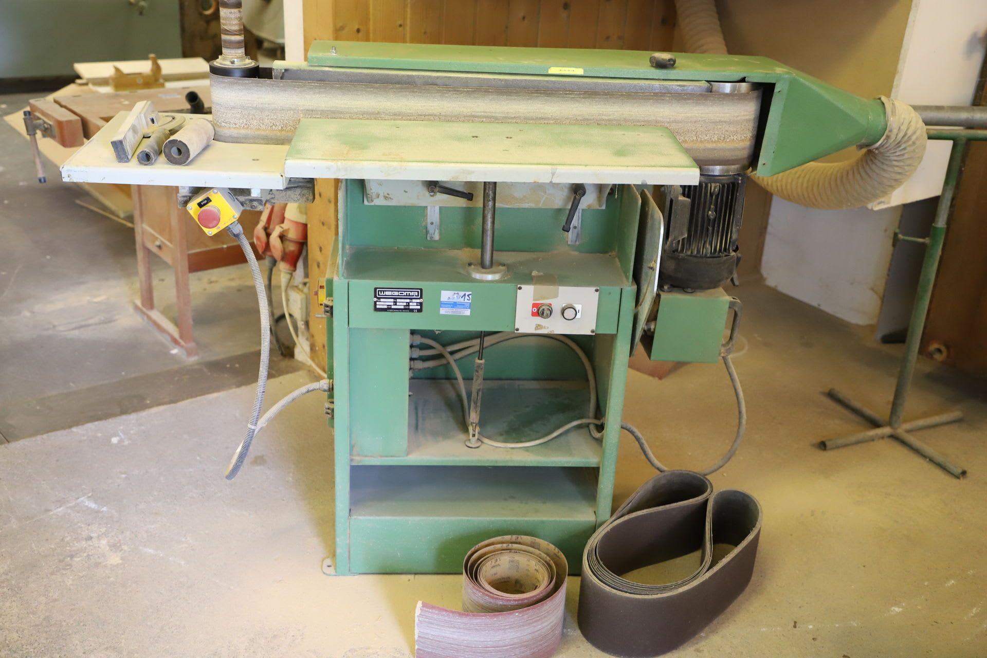 WEGOMA 2400 Kantenschleifmaschine