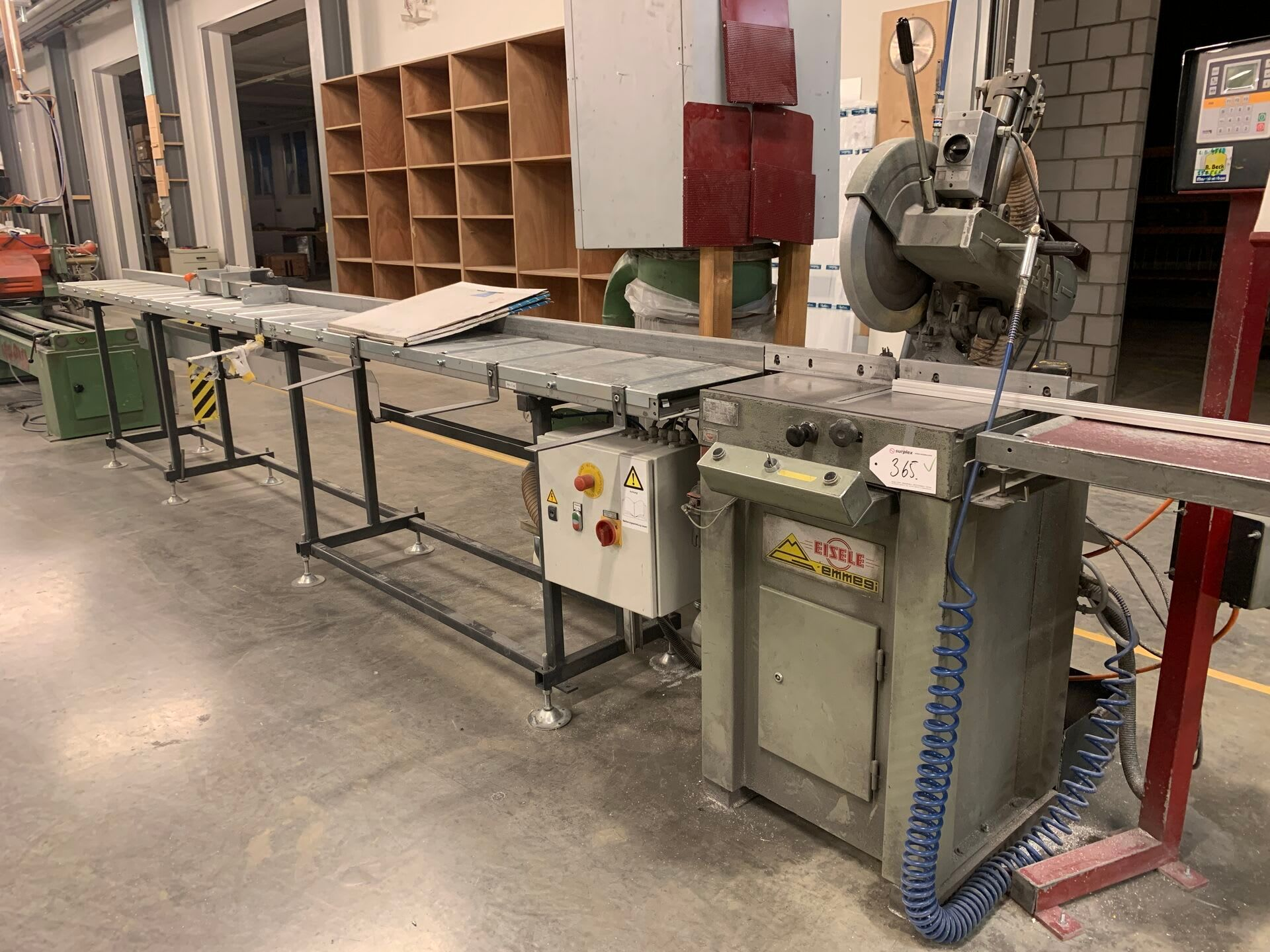 EISELE 350 P Metallkappsäge mit Digitalanschlag