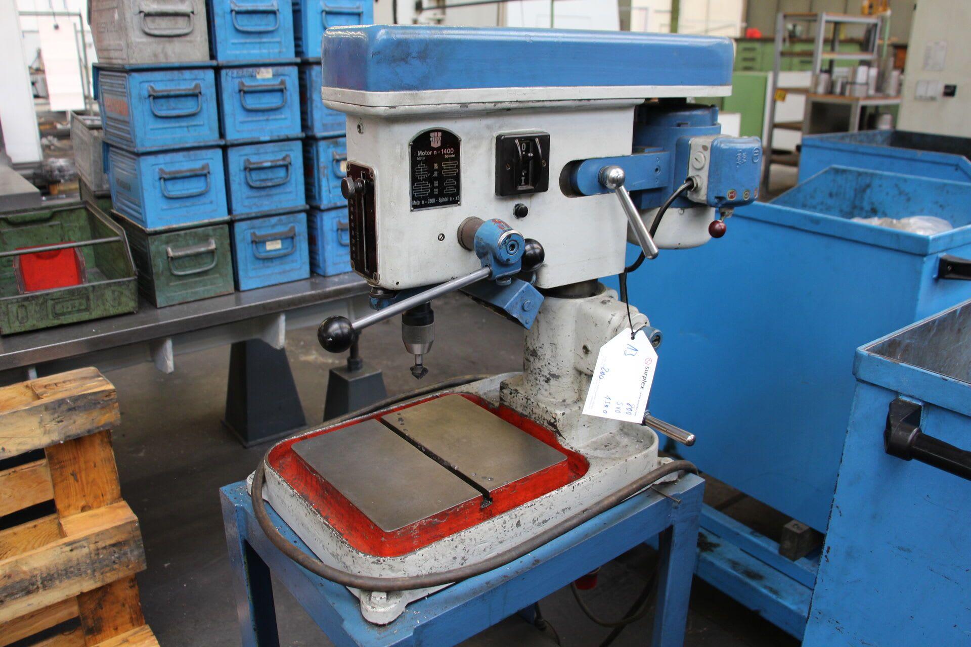 WERNER Tibo 13 Tischbohrmaschine