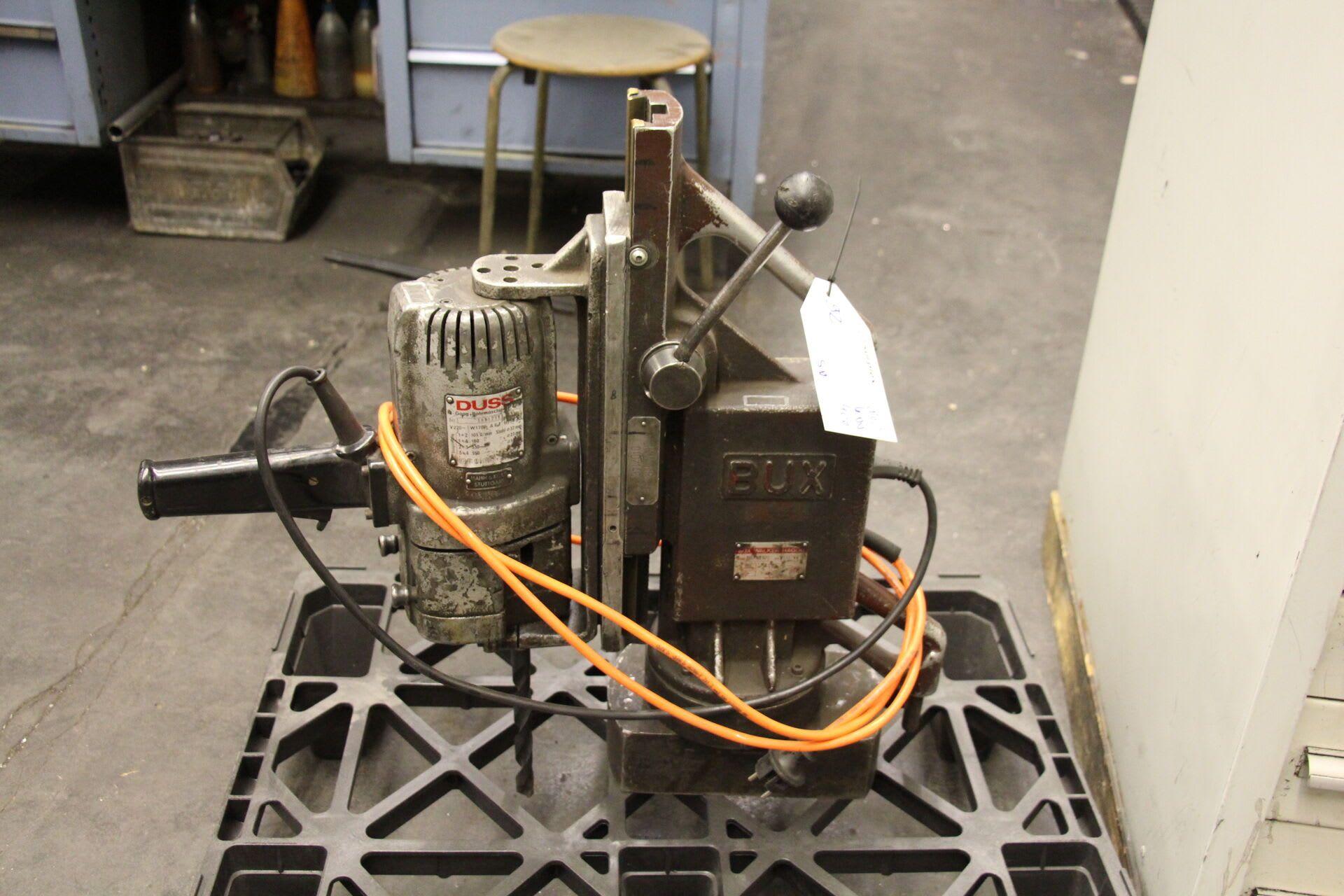 BUX DDH 32 RP Magnet-Bohrmaschine