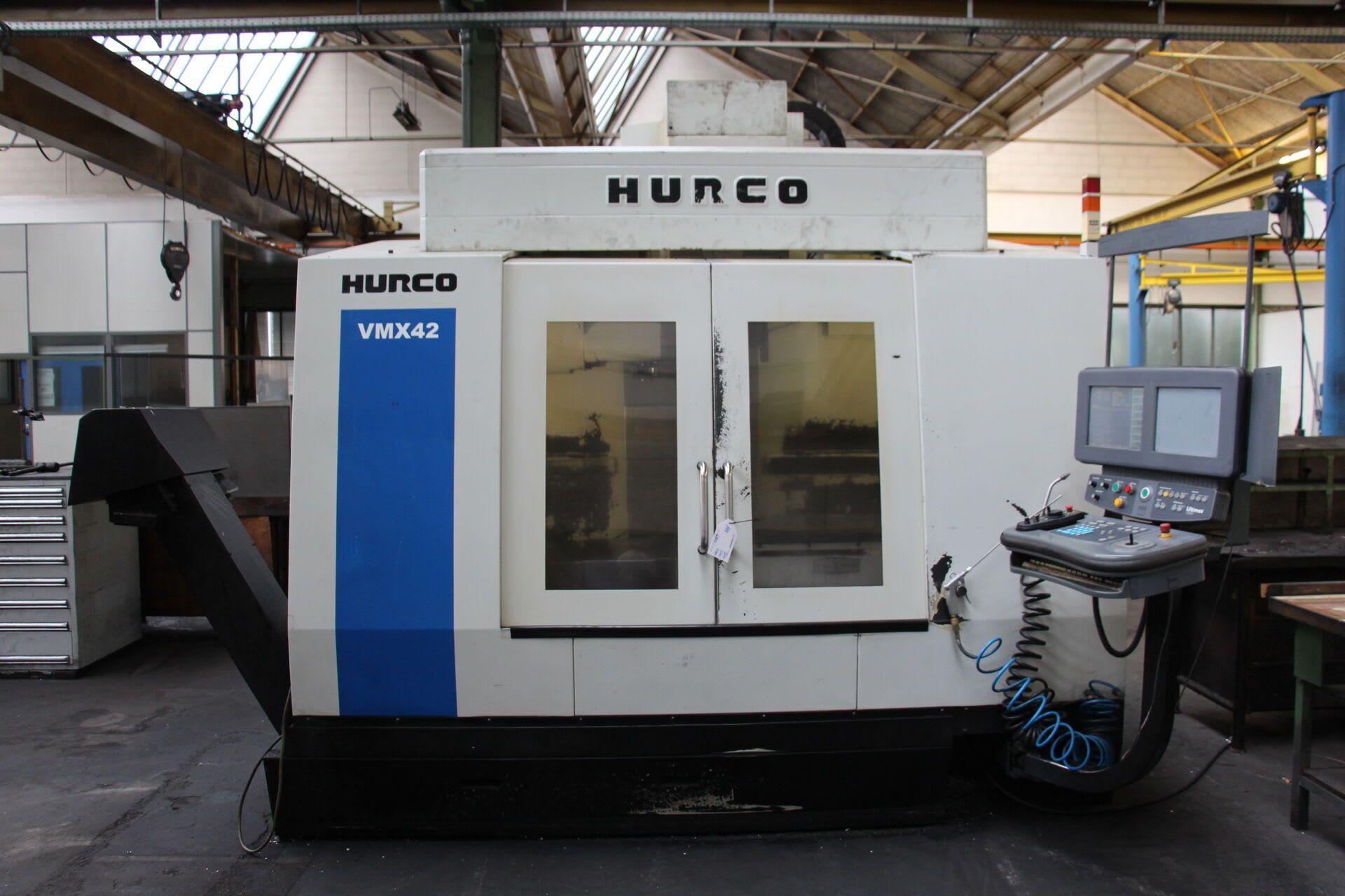 HURCO VMX 42 Vertikal-Bearbeitungszentrum