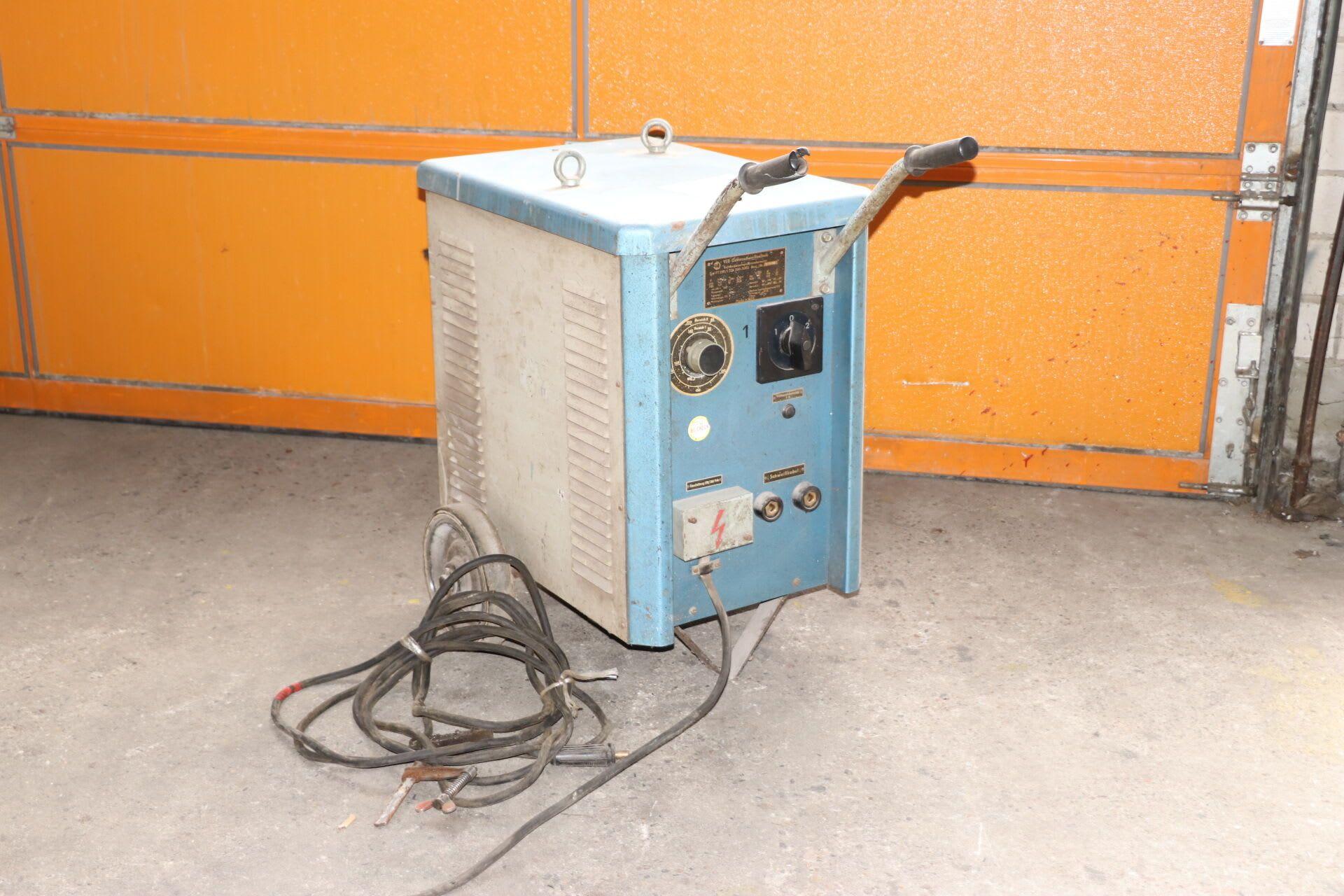 VEB ELEKTROSCHWEIßTECHNIK FT 250/1 Lichtbogenschweißtransformator
