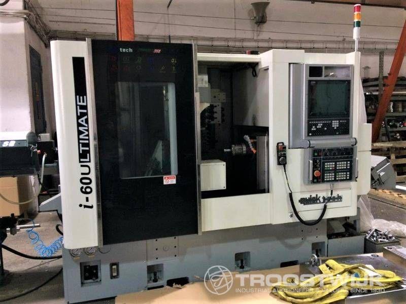13-Achsen-CNC-Drehmaschine