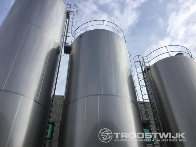 Isolierter Edelstahl-Lagertank