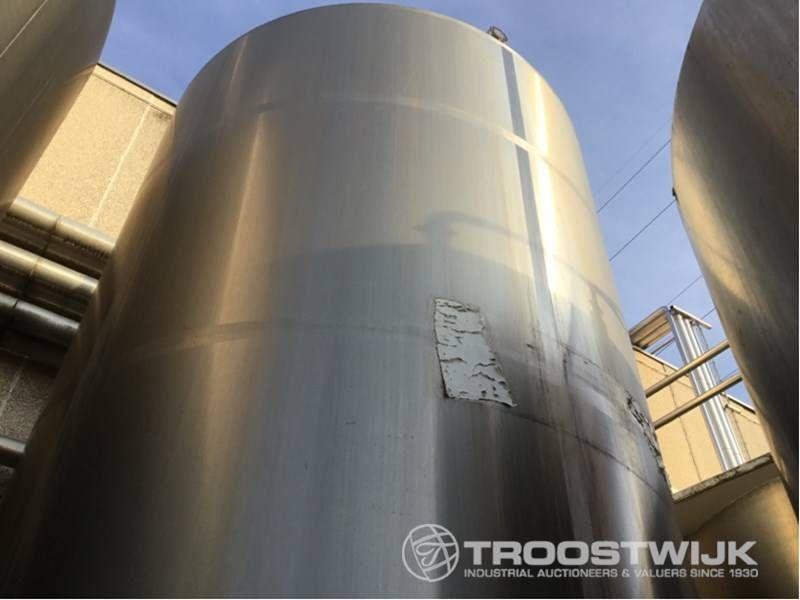 Einschicht-Lagertank aus Edelstahl