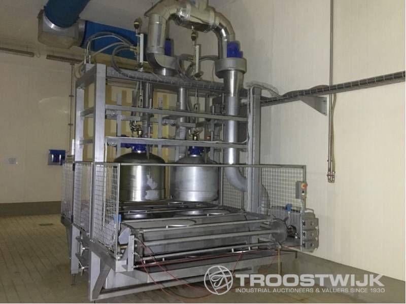 automatische Tunnelformwaschmaschine