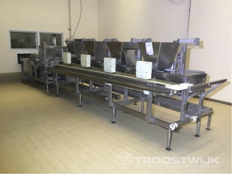 Gorgonzola / Mascarpone-Form- und Portioniermaschine