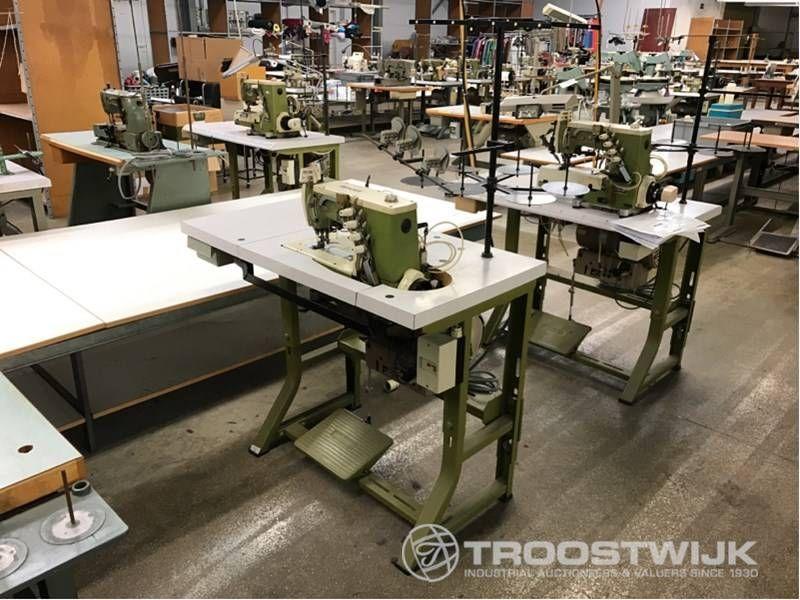 2/3/4-Nadel-Coverstitch-Industrienähmaschine