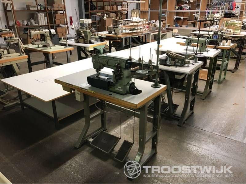 2-Nadel-Coverstitch-Industrienähmaschine