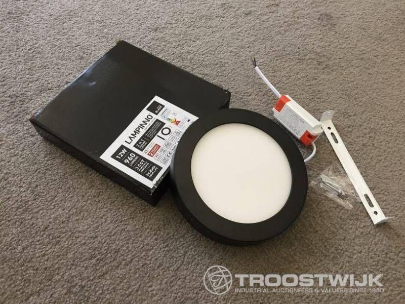 12 W, mattschwarz, rund, 3-in-1-CCT-Schalter, LED-Panels für Aufputzmontage
