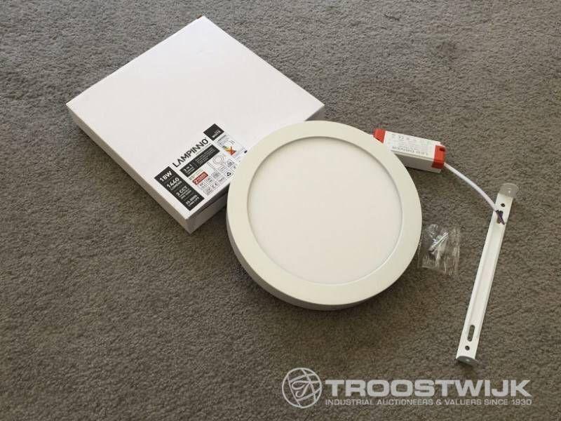 18W mattweiße runde 3-in-1-CCT-Schalter für die Anbringung von LED-Panels