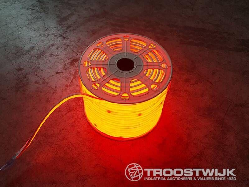 100m neonflex wasserdichte LED-Streifen rot
